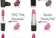 MAC Lipstick Dupes / Make-up