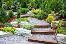 Garden ideas / Ideas for the front gite garden