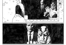 comic book spreads