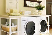 Organized Laundry Rooms / by Laura (Organizing Junkie)