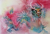 Watercolors by Susan Escobar / Landscapes, florals, and other subjects in watercolor