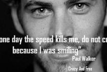 Paul Walker 1973-2013 / Paul Walker: born September 12 1973. Dies November 30th 2013 in a fiery car crash at the age of 40. He will truly be missed. / by Ron Perez / WORX
