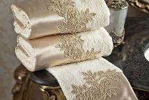 toallas almohadones