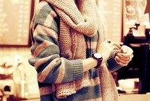 Winter! / Heavy coats, sweaters, boots, comfy clothes / by Celina Calvo