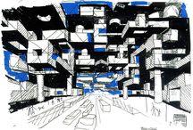 Yona Friedman - Desenho / Drawing