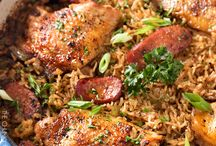 One Pot Chicken and Rice Recipes
