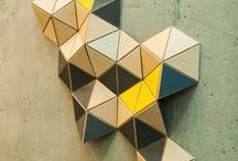 origami wall