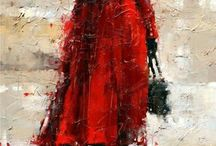 Lady  umbrella