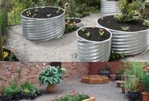 Eased garden beds