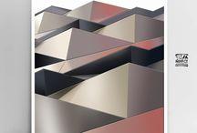 abstract modern wall art