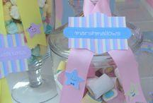 3 little stars celebration / Βάπτιση τριών παιδιών με θέμα αστερακια