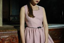 Lina Liri's Elegant High Fashion Pink Color Dress Fourreau Style With Tulle. / Lina Liri's Elegant High Fashion Pink Color Dress Fourreau Style With Tulle.