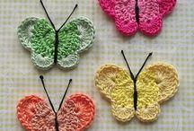 mariposas en crochet