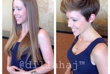 Short Women's Cuts / by Brooklee Stamper