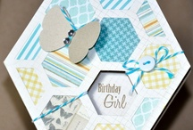 Hexagons / Card making with hexagons