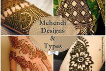 Mehandi Designs / Mehandi Designs and types