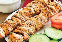 κοτοπουλο σουβλακι λιβανεζικο