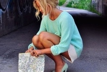 Mint and blue obsession <3