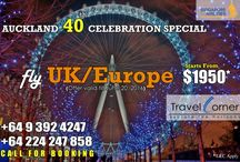 Auckland 40th Celebration Special / All Auckland 40th celebration deals are posted here.