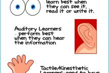 The Different Learning Styles of Children