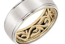 Men's Wedding Bands from Bowen Jewelry Company / Men's Wedding Bands.