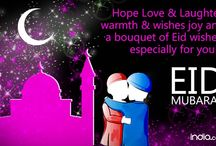Eid Mubarak! / #EidMUBARAK #EidAlFitr  BEST WISHES to send to your loved ones on this beautiful festival of love, warmth, happiness and brotherhood!  Source- india.com