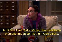 The Big Bang Theory / My favourite television gang