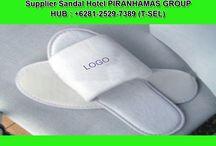 Grosir Sandal Hotel Polos - +62 812-5297-389 (TSEL) / PIRANHAMAS GROUP menyediakan keperluan untuk Hotel Anda berupa Sandal Hotel.Sandal Hotel Terbaik dan Termurah HANYA di PIRANHAMAS GROUP.  Hubungi Costumer Service Representatif :  (Call / SMS / WhatsApp) : +62 812-5297-389 (Tsel) PIRANHAMAS GROUP. Telp Kantor : 0341 - 547.5454 Email : Silvi_eko@yahoo.co.id Alamat : JL. Piranha Atas V / 01, Tunjung Sekar, Malang http://www.piranhamasgroup.com/