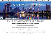 Republic Day Long weekend Getaways / Republic Day Long Weekend Special SINGAPORE Package for 3 Nights/4 Days