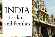 India / The best family travel pins for India