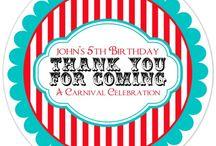 Custom Birthday Stickers / custom birthday stickers from DelightDesignBiz.etsy.com
