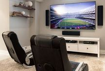 Let's play a game / Game room ideas and decor