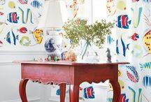 Thibaut Fabrics & Wallpapers / Beautiful fabrics and wallpapers