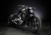 SIR WEILL : 2008 VRSCD 300 WIDE TIRE CUSTOM
