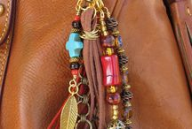 beaded handbag charms