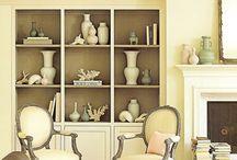 Bookshelves / by Sue Czymbor