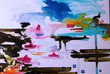 artisanat d'art et peinture contemporaine