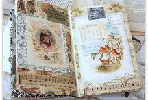 Glue book page