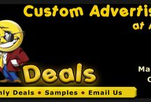 Custom Advertising Buttons / Customized advertising button at wholesale prices.