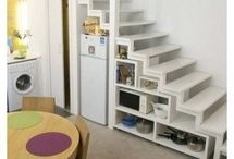 Using the space under stairs
