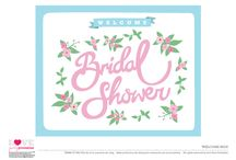 Bridal Shower Ideas / bridal shower invitations, bridal shower printable games, free printables invitations, free printable bridal shower invitations, bridal shower ideas