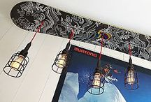 Harry's Room - Lights and Chairs