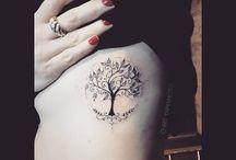 Tattoo albero