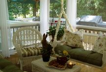 Patios, porches, sunrooms, outdoor living / by Carole Zanath