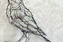 figuras con alambre