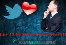 Buy Real Twitter Favorites / Twitter favorites are much sort after. The favorites pull traffic easily to your site. So it is safe to buy real twitter favorites and get popular.