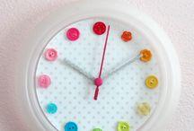 craft ideas for clocks