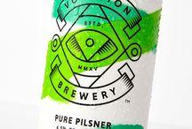 Beer packaging / logos