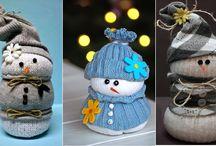 Bricolages / Bonhomme de neige