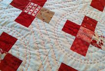 big stitch hand quilting / by Crafty Pug